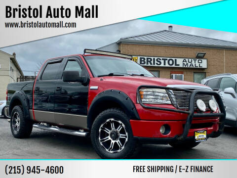 2006 Ford F-150 for sale at Bristol Auto Mall in Levittown PA