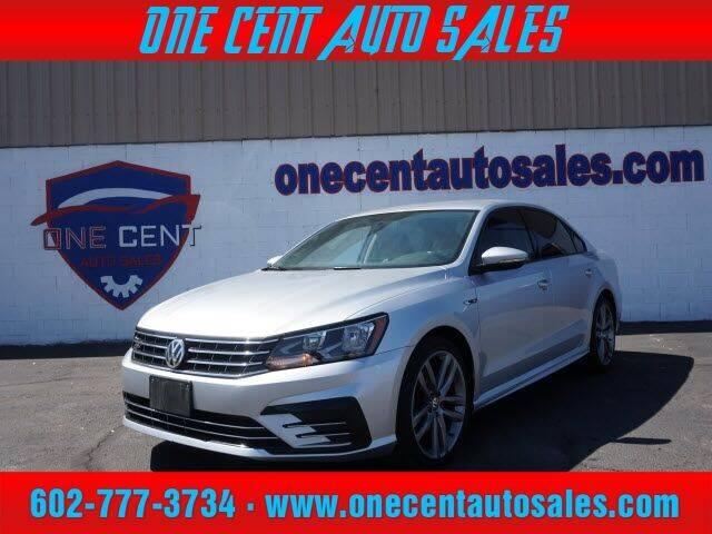 2018 Volkswagen Passat for sale at One Cent Auto Sales in Glendale AZ
