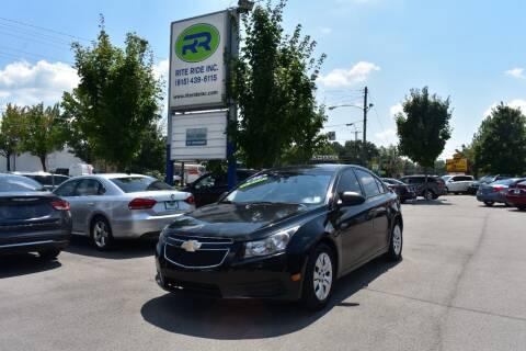 2014 Chevrolet Cruze for sale at Rite Ride Inc in Murfreesboro TN