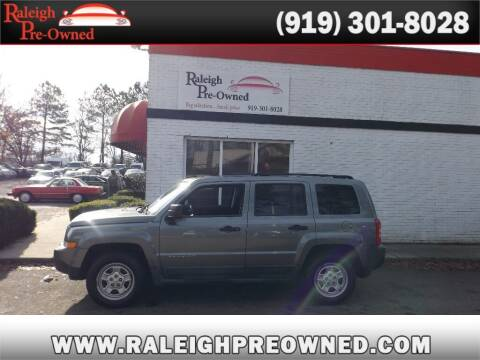 2011 Jeep Patriot for sale at Raleigh Pre-Owned in Raleigh NC