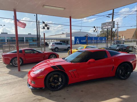 2011 Chevrolet Corvette for sale at FAST LANE AUTO SALES in San Antonio TX
