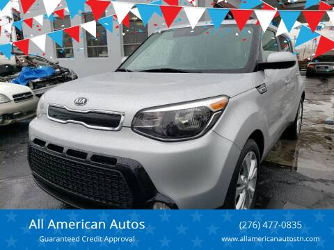 2016 Kia Soul for sale at All American Autos in Kingsport TN