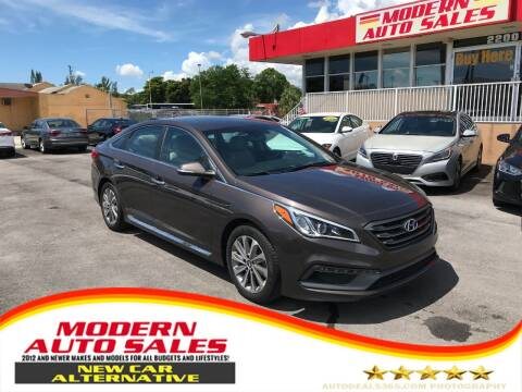2016 Hyundai Sonata for sale at Modern Auto Sales in Hollywood FL