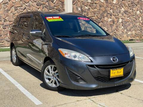 2013 Mazda MAZDA5 for sale at Car Deal Auto Sales in Sacramento CA