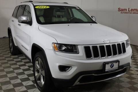 2014 Jeep Grand Cherokee for sale at Sam Leman Mazda in Bloomington IL