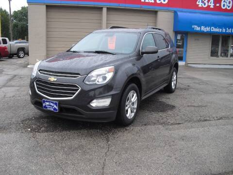 2016 Chevrolet Equinox for sale at 1st Choice Auto Inc in Green Bay WI