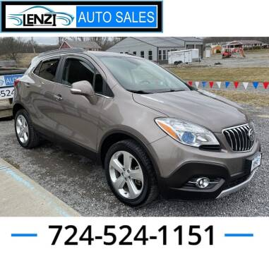 2015 Buick Encore for sale at LENZI AUTO SALES in Sarver PA