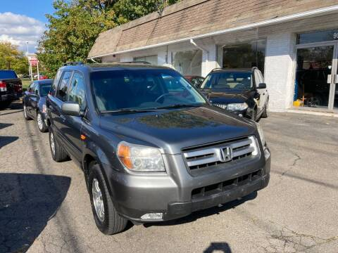 2007 Honda Pilot for sale at ENFIELD STREET AUTO SALES in Enfield CT