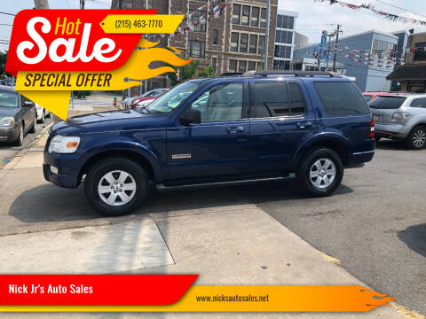 2008 Ford Explorer for sale at Nick Jr's Auto Sales in Philadelphia PA