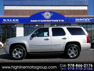2013 Chevrolet Tahoe for sale at Highline Group Motorsports in Lowell MA