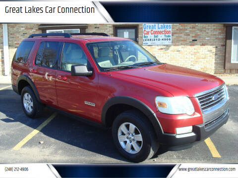 2007 Ford Explorer for sale at Great Lakes Car Connection in Metamora MI