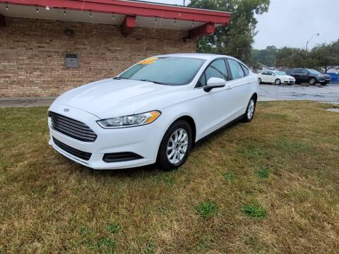 2016 Ford Fusion for sale at Murdock Used Cars in Niles MI
