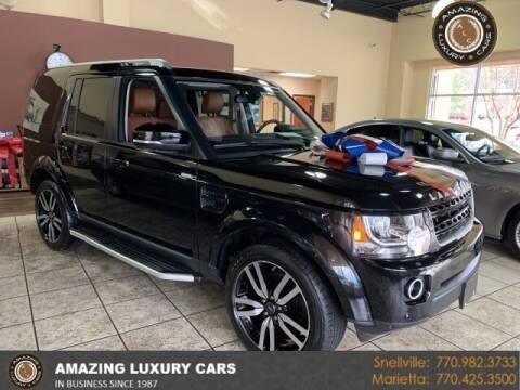 2016 Land Rover LR4 for sale at Amazing Luxury Cars in Snellville GA