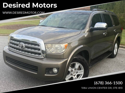 2008 Toyota Sequoia for sale at Desired Motors in Alpharetta GA