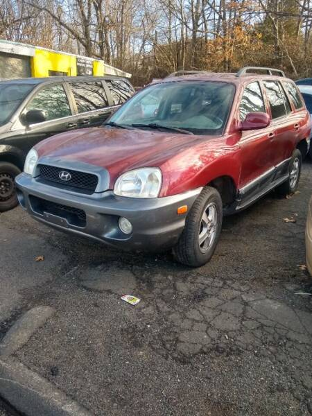 2004 Hyundai Santa Fe for sale at Cheap Auto Rental llc in Wallingford CT
