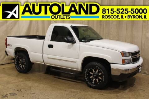2007 Chevrolet Silverado 1500 Classic for sale at AutoLand Outlets Inc in Roscoe IL