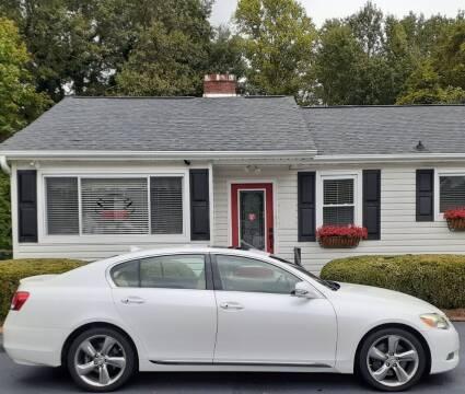 2008 Lexus GS 350 for sale at SIGNATURES AUTOMOTIVE GROUP LLC in Spartanburg SC