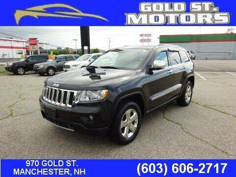 2012 Jeep Grand Cherokee for sale at Gold St. Motors in Manchester NH