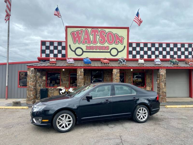 2012 Ford Fusion for sale at Watson Motors in Poteau OK