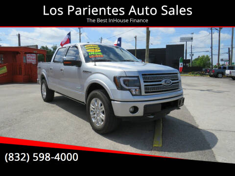 2011 Ford F-150 for sale at Los Parientes Auto Sales in Houston TX