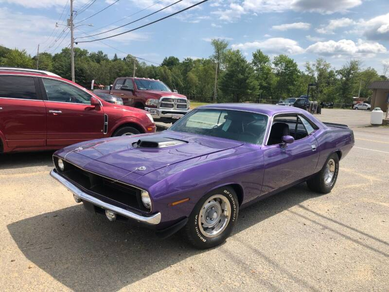 1972 Plymouth Barracuda for sale at Randys Auto Sales in Gardner MA