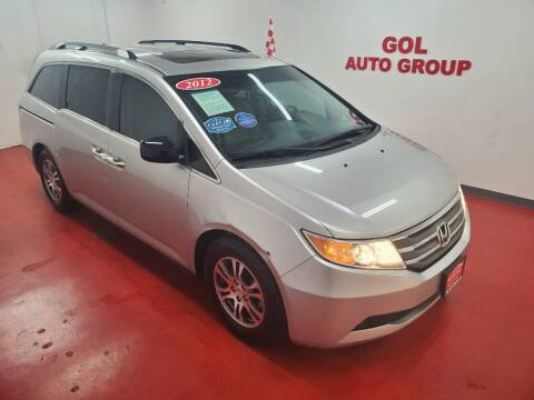 2012 Honda Odyssey for sale at GOL Auto Group in Austin TX