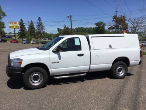 2008 Dodge Ram Pickup 1500 for sale at Sparkle Auto Sales in Maplewood MN