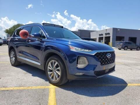 2019 Hyundai Santa Fe for sale at GATOR'S IMPORT SUPERSTORE in Melbourne FL