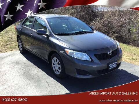 2009 Toyota Corolla for sale at Mikes Import Auto Sales INC in Hooksett NH