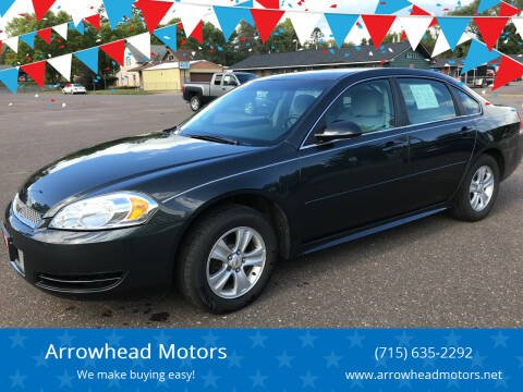 2015 Chevrolet Impala Limited for sale at Arrowhead Motors in Spooner WI