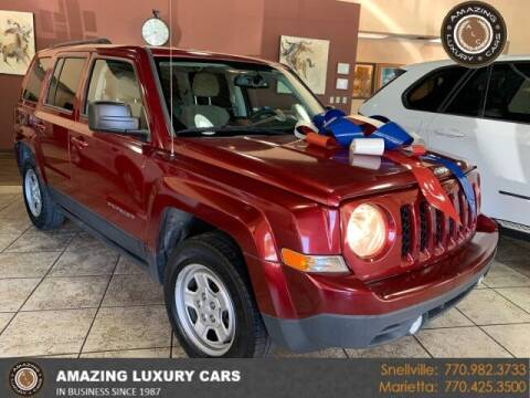 2016 Jeep Patriot for sale at Amazing Luxury Cars in Snellville GA