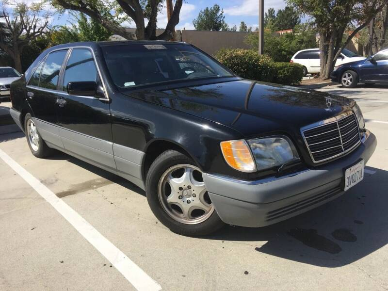 1997 Mercedes-Benz S-Class for sale at TETCO AUTO SALES  / TETCO FUNDING in Dallas TX