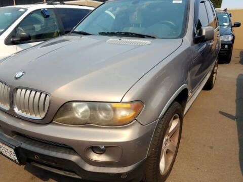 2005 BMW X5 for sale at MCHENRY AUTO SALES in Modesto CA