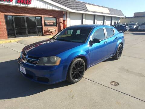 2012 Dodge Avenger for sale at Eden's Auto Sales in Valley Center KS