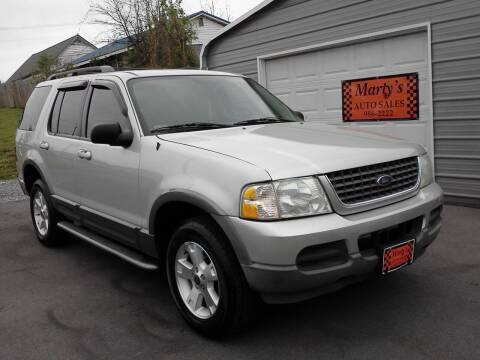 2003 Ford Explorer for sale at Marty's Auto Sales in Lenoir City TN