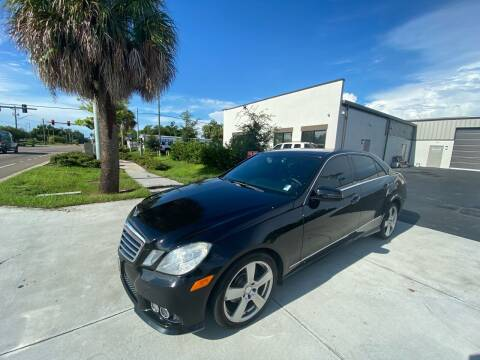 2010 Mercedes-Benz E-Class for sale at Bay City Autosales in Tampa FL