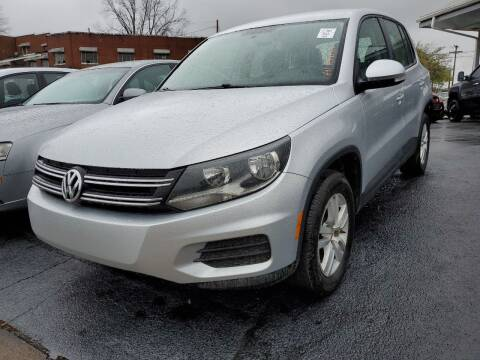 2013 Volkswagen Tiguan for sale at All American Autos in Kingsport TN