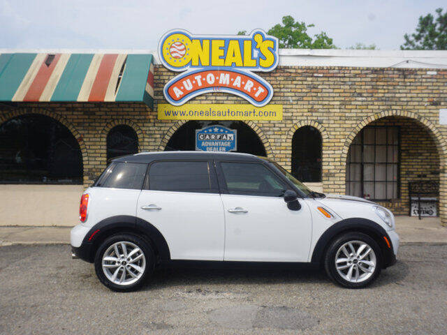 2013 MINI Countryman for sale at Oneal's Automart LLC in Slidell LA