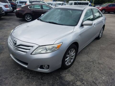 2010 Toyota Camry for sale at P S AUTO ENTERPRISES INC in Miramar FL