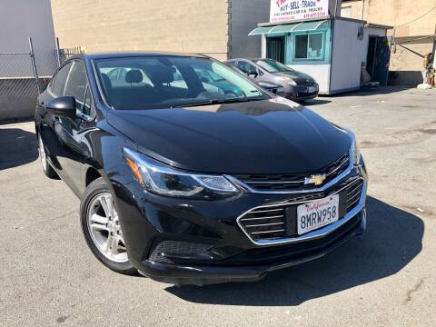 2018 Chevrolet Cruze for sale at TMT Motors in San Diego CA