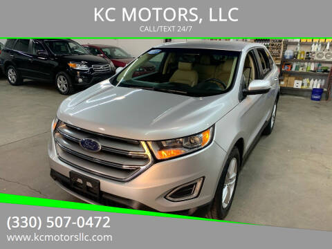 2017 Ford Edge for sale at KC MOTORS, LLC in Boardman OH