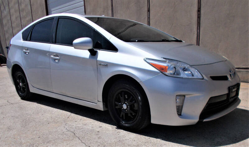 2015 Toyota Prius for sale at M G Motor Sports in Tulsa OK