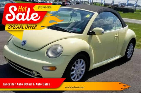 2005 Volkswagen New Beetle Convertible for sale at Lancaster Auto Detail & Auto Sales in Lancaster PA