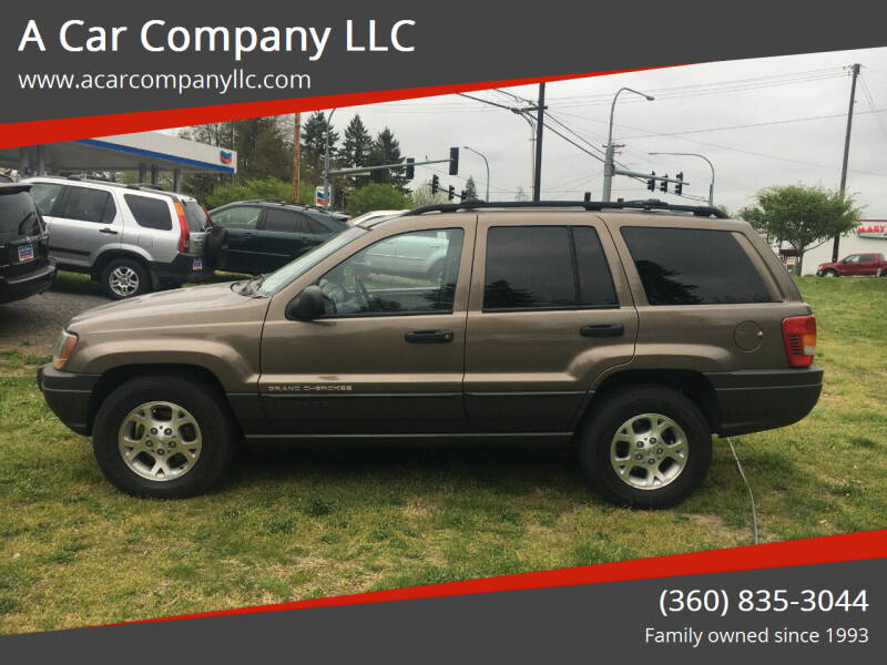 2001 Jeep Grand Cherokee for sale at A Car Company LLC in Washougal WA
