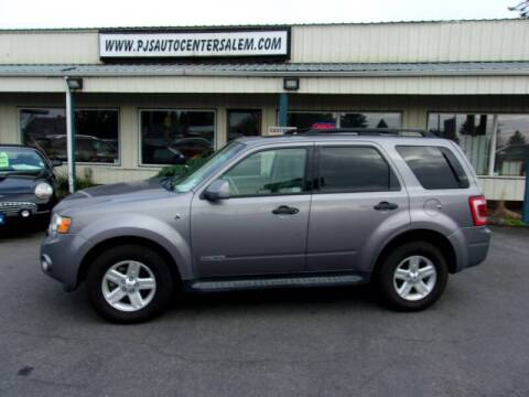 2008 Ford Escape Hybrid for sale at PJ's Auto Center in Salem OR