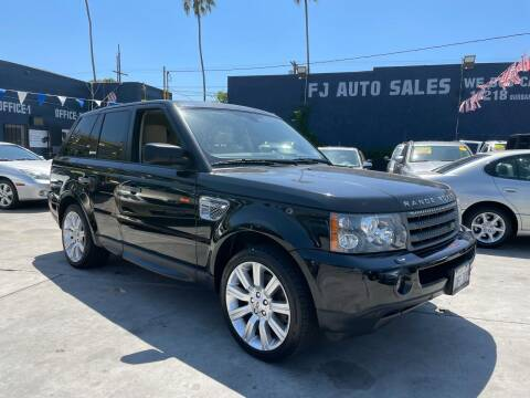 2008 Land Rover Range Rover Sport for sale at FJ Auto Sales North Hollywood in North Hollywood CA