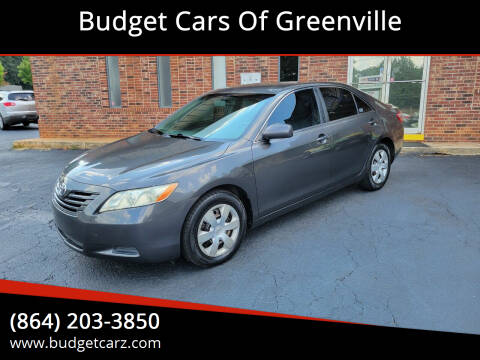 2008 Toyota Camry for sale at Budget Cars Of Greenville in Greenville SC