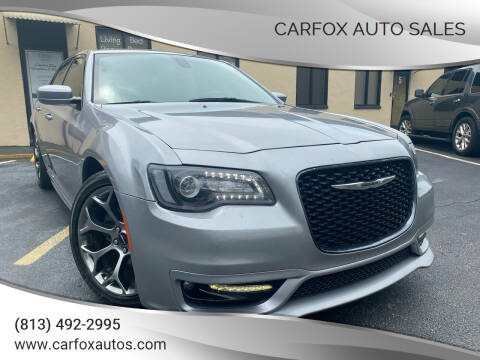 2017 Chrysler 300 for sale at Carfox Auto Sales in Tampa FL