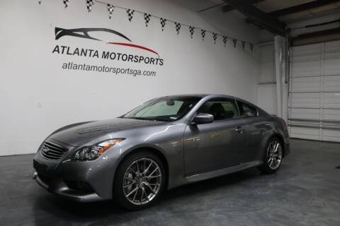 2011 Infiniti G37 Coupe for sale at Atlanta Motorsports in Roswell GA