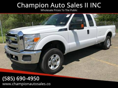 2012 Ford F-250 Super Duty for sale at Champion Auto Sales II INC in Rochester NY